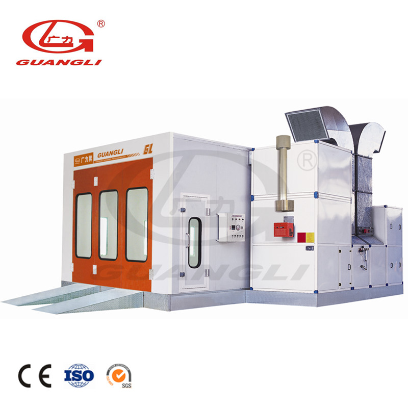 Full grids emergency door car baking oven spray booths for sale