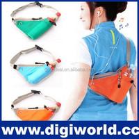 Cheap Small Sport Travel Multipurpose Triangular Running Waist Belt Bag waterproof