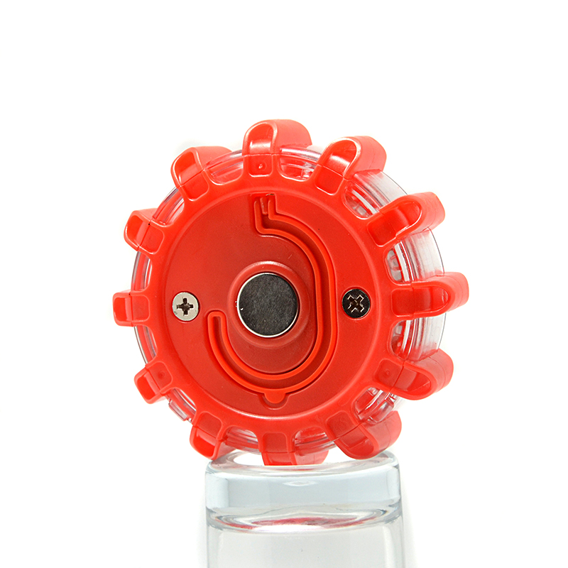 All In One Portable Battery Operated Magnetic Traffic LED Warning Light for Vehicle