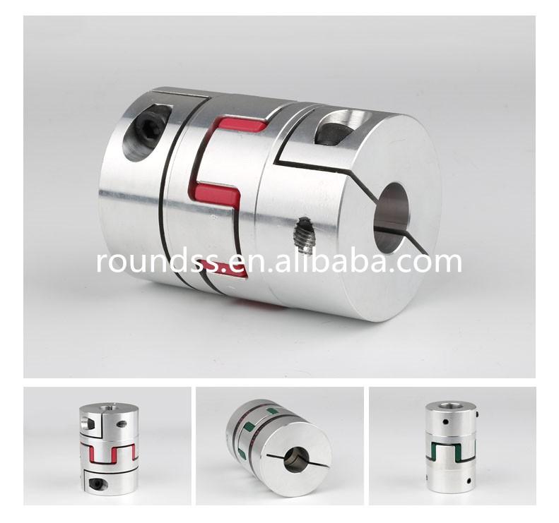 2-2mm Aluminio Acoplamiento flexible motor Acoplador rígido conector V8Y9