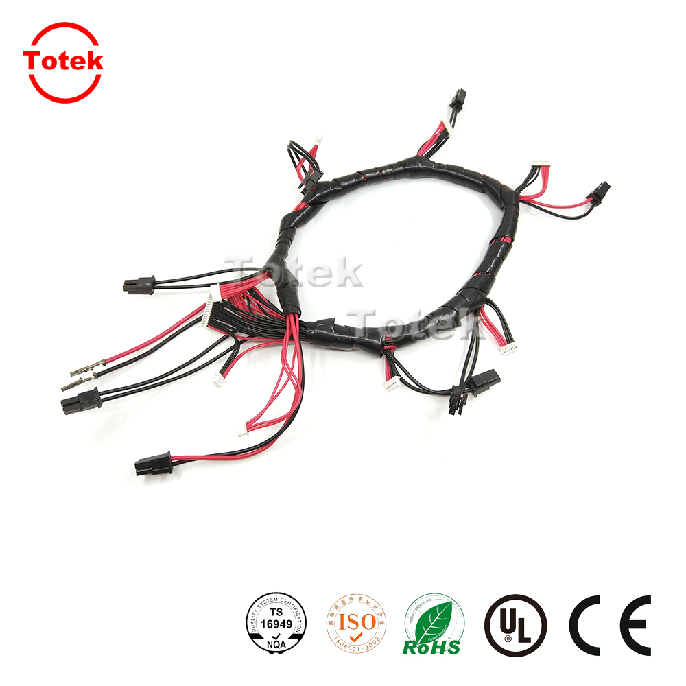 Customized cable assembly with JST connector 10SUR-32S and M20-1060300
