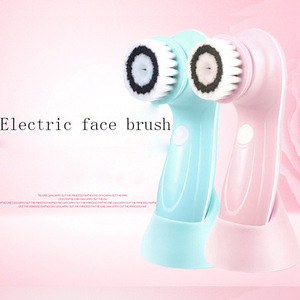5 IN 1 massage electric facial brushes skin cleansing brush for beauty care