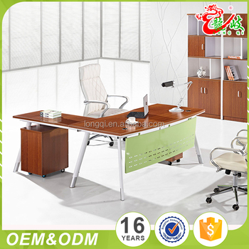 New Design Luxury Wood Table Modular Office Furniture Modern Ceo Executive Desk Import From China