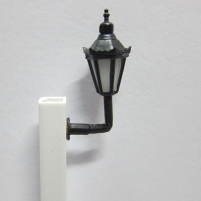 plastic led light in building model materials