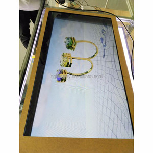 22 inch transparent lcd panel with video player