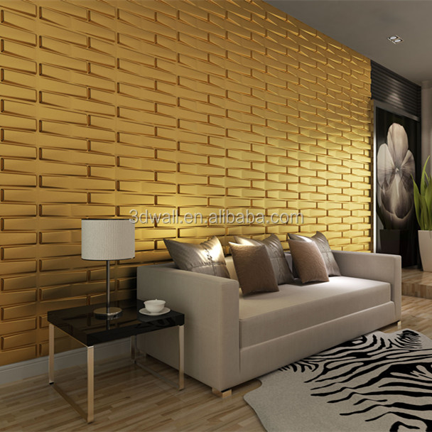 Natural plant fiber 3d wall panel for bedroom decoration 3d leather wall panels