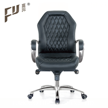 Foshan Fashion Low Back Genuine Leather Ergonomic Racing Office Chair