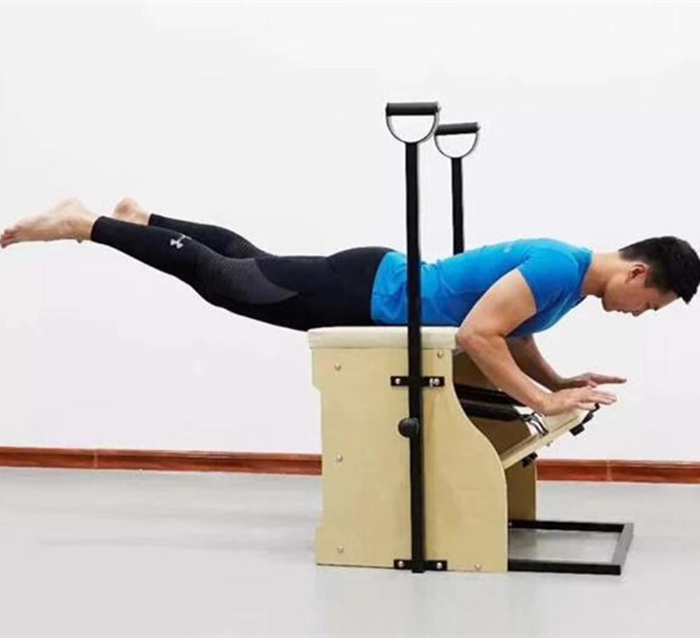 Hot Sale Fitness Equipment Pialtes Wunda Chair Reformer Yoga Pilates Stability Chair, Optional