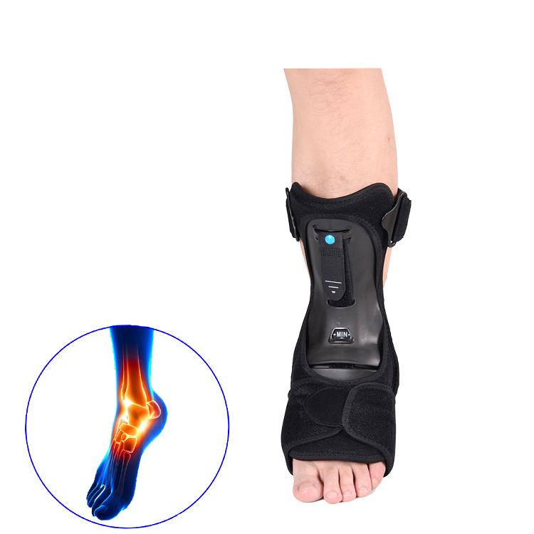 Anti-slip luva de compressão ankle brace