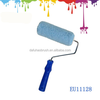 Construction Tool Parts Painting Function Blue Acrylic Paint Roller  Stencils For Wall Painting - Buy Paint Roller,Construction Tool,Stencils  For Wall