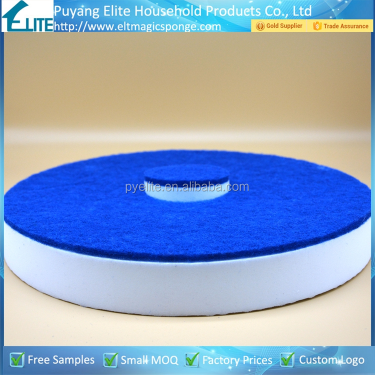Cleaning Polishing Tools 17 Inch Diamond Magic Sponge Concrete Polishing Pad