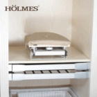 Home furniture wall cabinet mounted drawer folding wood rotary ironing board
