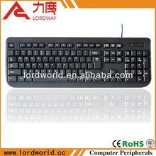 new electrical products latest computer accessories for lablet laptop usb ps2 ps/2 wired heated ergonomic keyboard