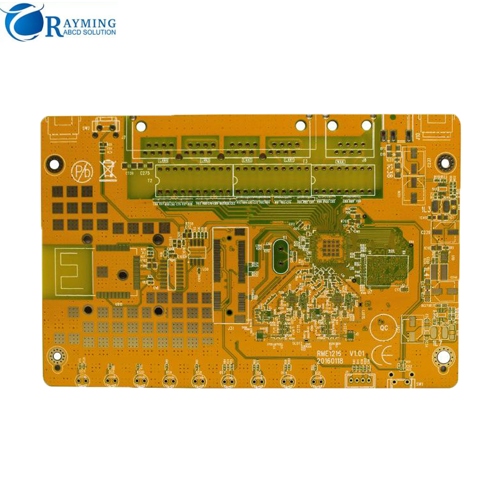 Rayming High Density Fiberglass 1 layer 2 layer 4 layer Mobile Charge PCB, High TG TG175 TG180 Round UL Mobile
