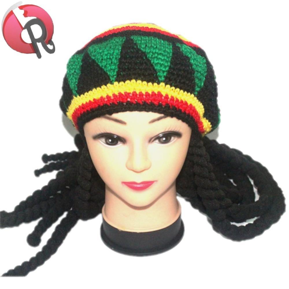 Catálogo de fabricantes de Jamaica Rasta Ganchillo Gorro de alta ...
