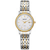 WEIQIN W00136 elegant two tone gold chain watch for women