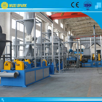 Waste Tire Recycling Machine With Rubber Pulverizer For Tire ...