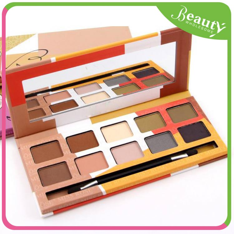 Makeup shining eyeshadow ,cheap 10 color eyeshadow palette ,H0Tmn eyeshadow for dark brown eyes
