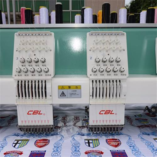 embrodery machine 6 head 9 needles embroidery machine computerized cap embroidery machine high quality
