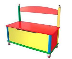 Pencil Toy Chest or Wooden Storage Bench, Cute! Bin Box Wood Kids Organizer