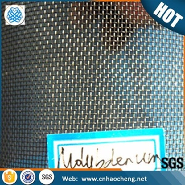 24 Mesh 0.35mm Molybdenum Wire Mesh For Soft Sintering - Buy ...