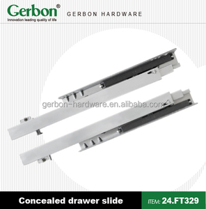 Full Extension concealed Push Open Drawer Slides