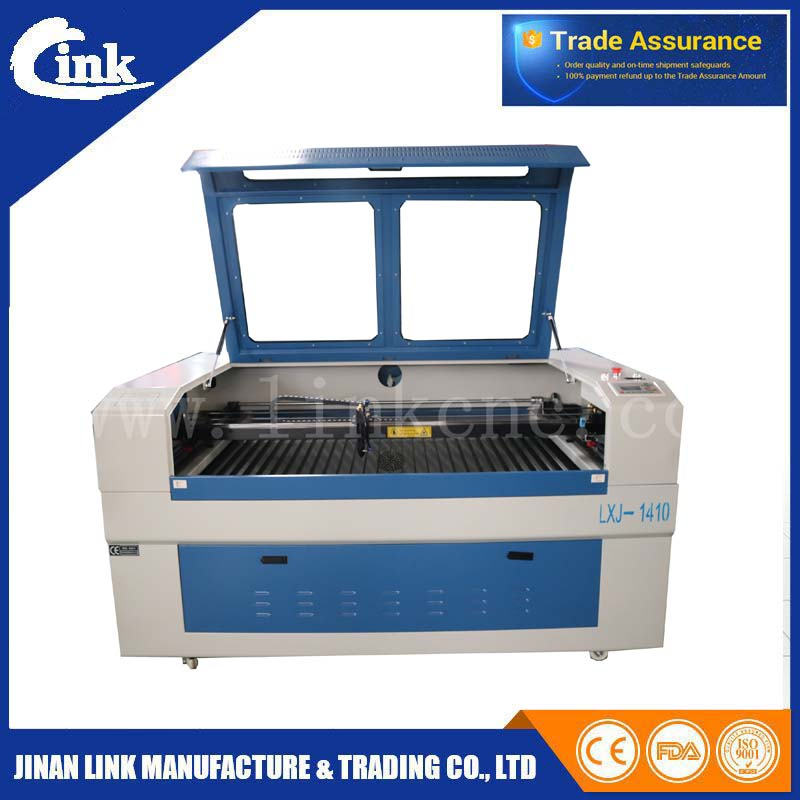 New model hot sale jeans/clothing/acrylic laser cutting machine/laser wood engraving machine price