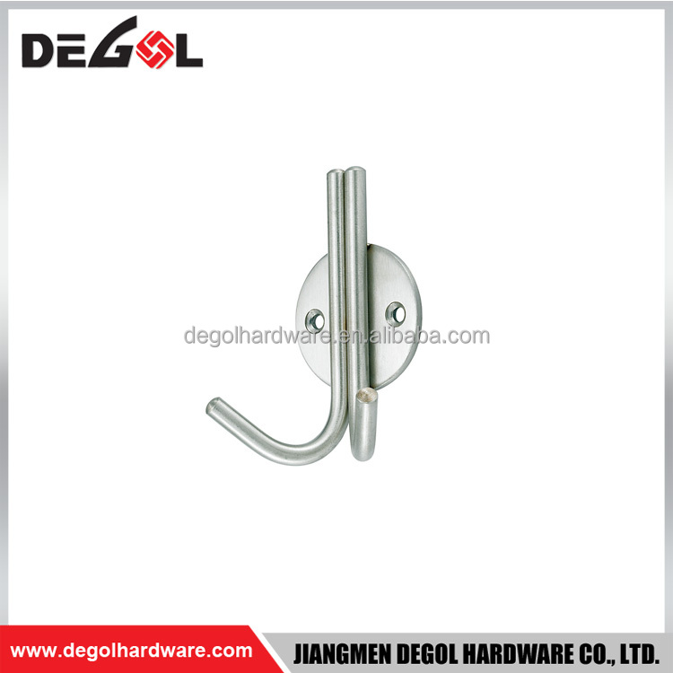 Hanging clothed stainless steel door hook