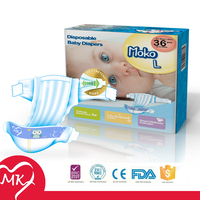 Ultra thin disposable sleepy with elastic side panel baby diapers health products with Japanese quality
