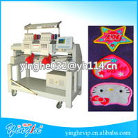 New condition cap/flat computerized textile embroidery machine