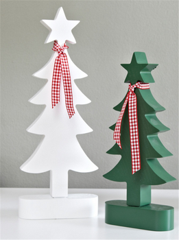 small wood craft christmas tree wood decoration tree