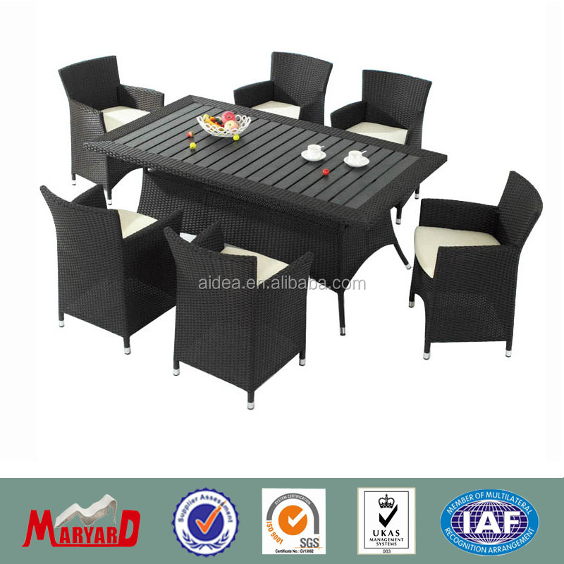 a whole set of restaurant chair and table