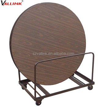 500kg Load Capacity Banquet Round Table Trolley
