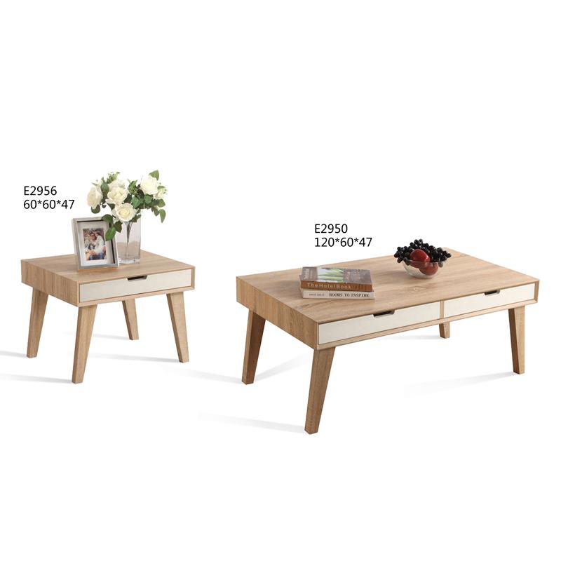 No 1 vente moderne simple design scandinave centre table Table basse scandinave avec tiroir