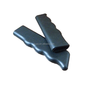 Molded small vulcanized silicone rubber grip products