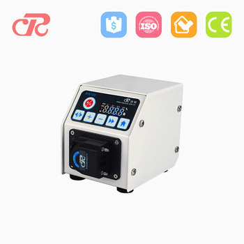 small high precision micro stepper motor peristaltic pump for small volume