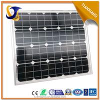 60w monocrystalline Silicon solar panels silicon wafer for solar cell