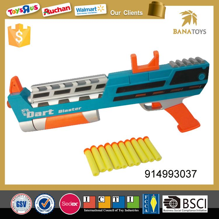 Free shipping New arrival plastic soft bullet gun toy for kids