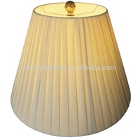 JLS-022 modern accessories pleated covers table lamp shade fabric UNO