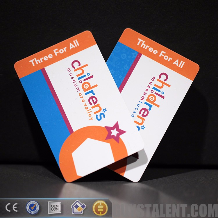 China Guangzhou Custom Printing Cheap Metal Plastic PVC Paper VIP Member Business ID Name Card printer