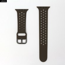 URVOI спортивный ремешок для наручных часов Apple Watch NIKE + series 5/4/3/2/1 ремешок для наручных часов iWatch, силиконовой лентой штырь на замену-and-tuck металл...(Китай)