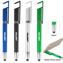 fancy 3 In 1 Pen, Ballpen , Stylus And Phone Stand