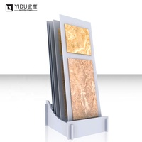Best selling High Quality Manufacturer Sturdy Marble Ceramic Tiles Showroom Metal Display Racks Stands