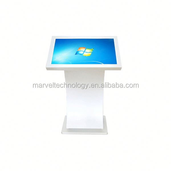Shopping mall advertising floor stand led self-service terminal kiosk
