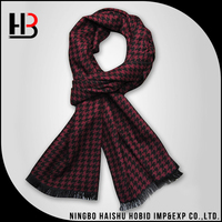 Latest silk shawls and scarves houndstooth scarf men