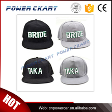 JDM Baseball Cap Hat BRIDE Racing Baseball Cap Black/Grey