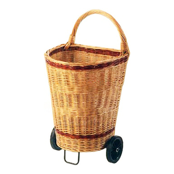 Whole Wicker Ping Cart On