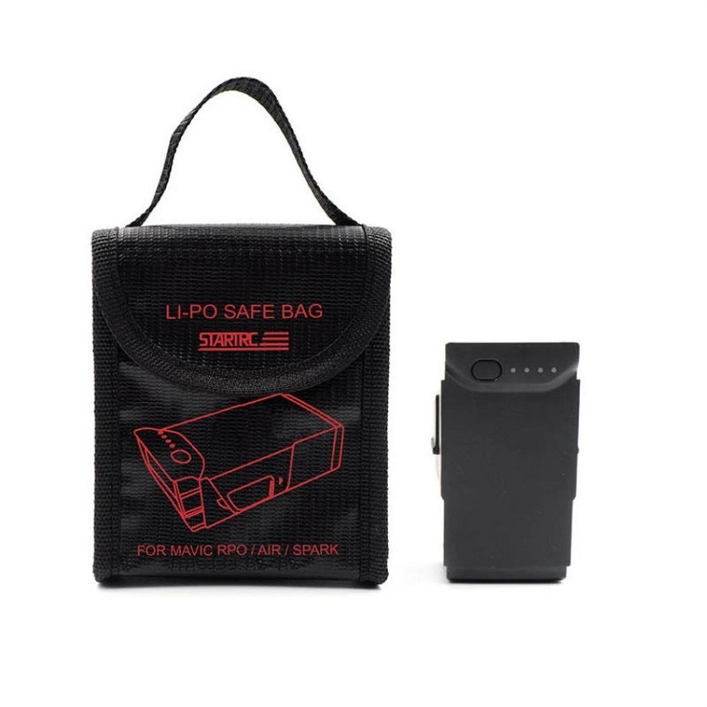 Explosion-proof Fireproof Bag For DJI Mavic Series/Spark,1PC LI-PO Explosion-proof Fireproof Safe Bag Cover For DJI Mavic Series/Spark