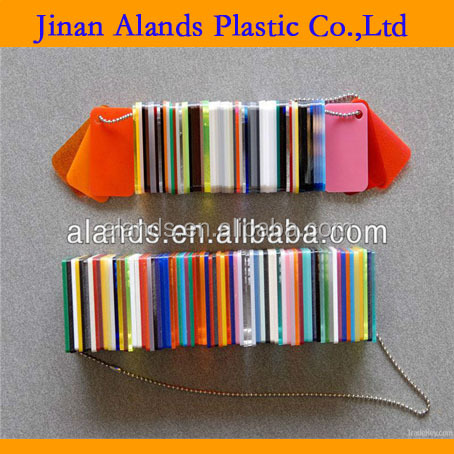 Plastic colored cast acrylic glass sheet acrylic panels for swimming pool