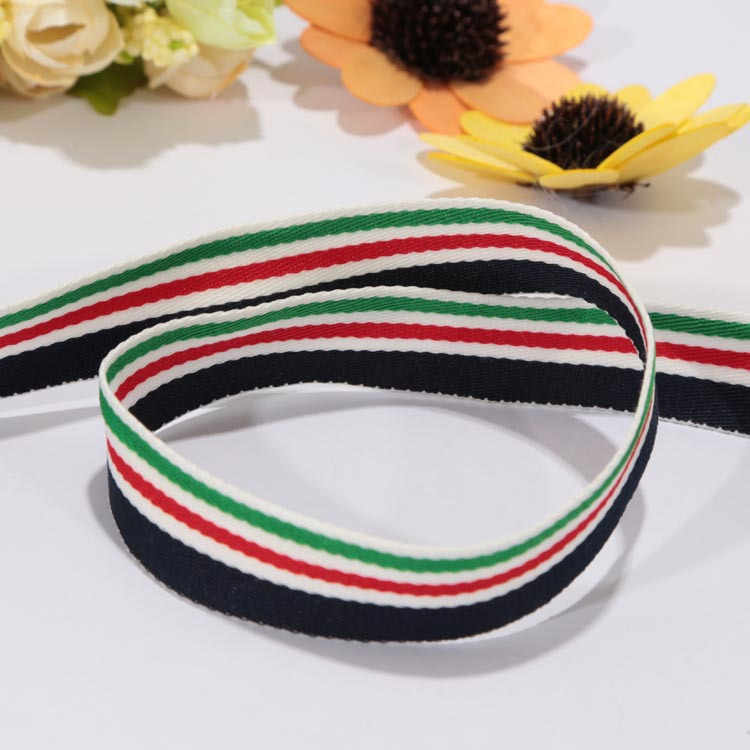 Wholesale High Quality Pattern Custom Polyester Fabric Medal Ribbon OEM